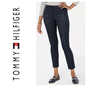 Tommy Hilfiger Ashby Ankle Plaid Pants